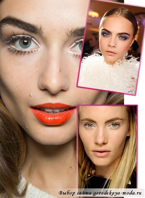 модный макияж осень-зима 2013-2014 фото