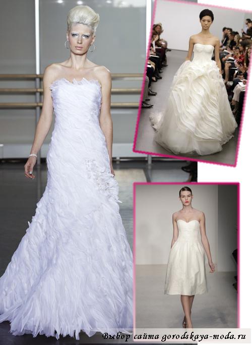 Миниатюра к статье Свадебные платья осень-зима 2013-2014
