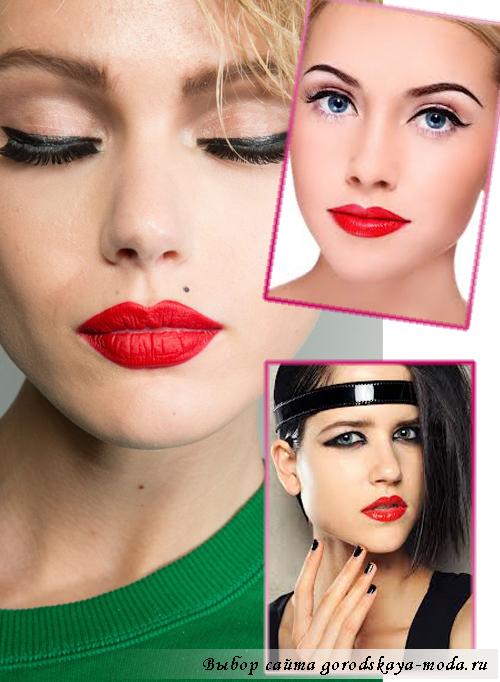 модный макияж осень-зима 2013-2014