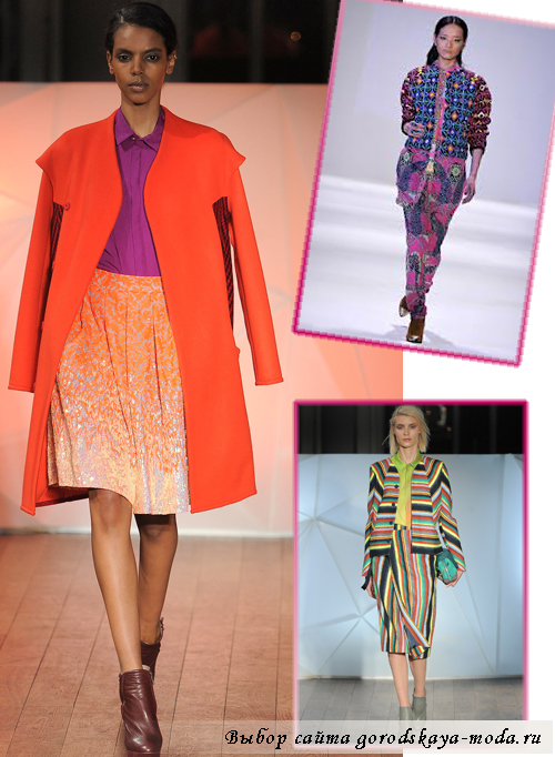 тенденции женской моды осень-зима 2013-2014