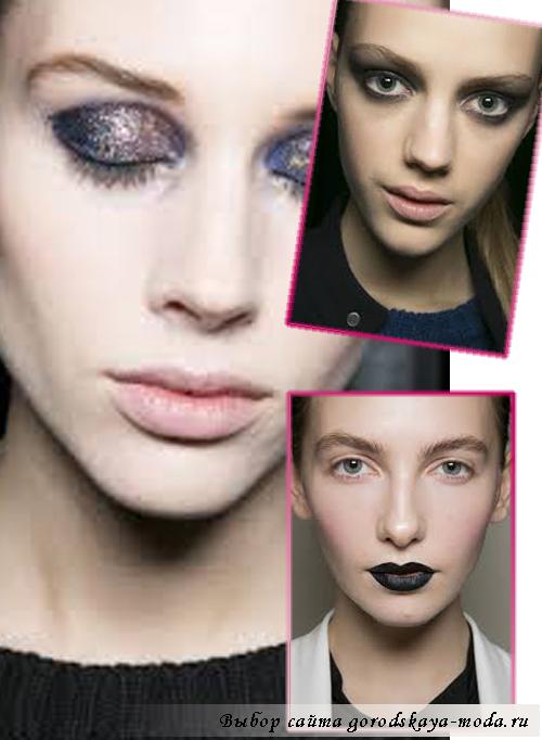 макияж сезона осень-зима 2013-2014