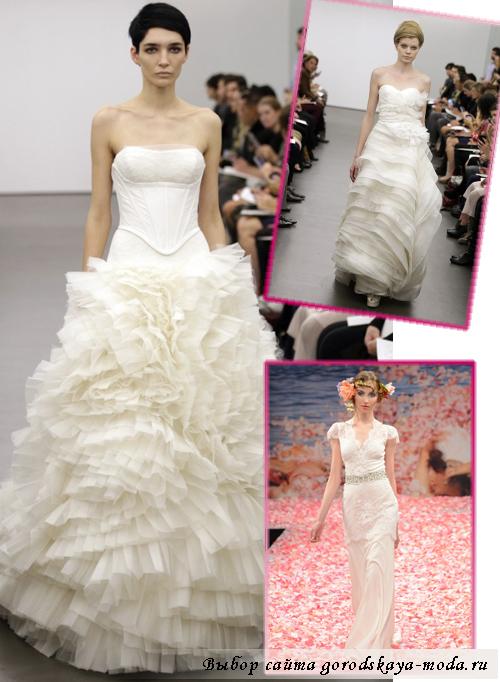 дизайнерские свадебные платья осень-зима 2013-2014