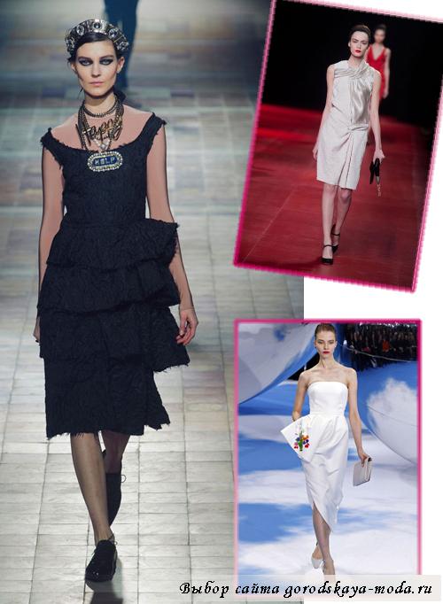Миниатюра к статье Модные платья осень зима 2013 2014