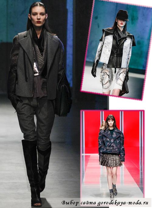 тенденции курток осень-зима 2013-2014