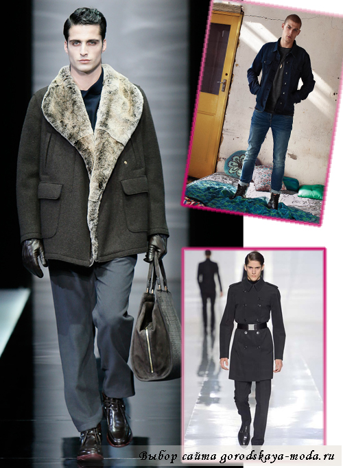мужская одежда осень-зима 2013-2014