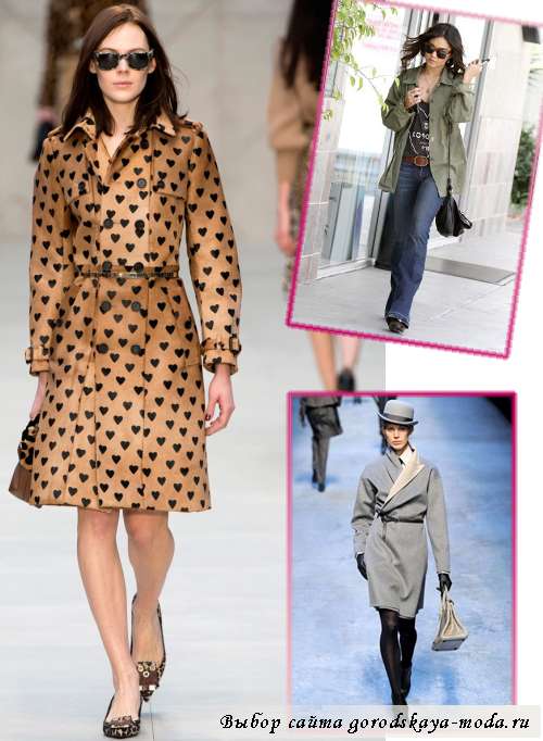 Миниатюра к статье Модные плащи: какие они в сезоне осень 2013