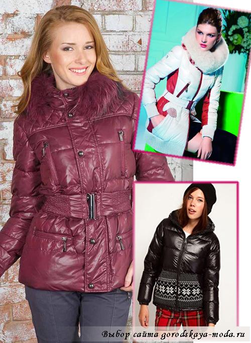 Миниатюра к статье Модные пуховики зима 2013 2014