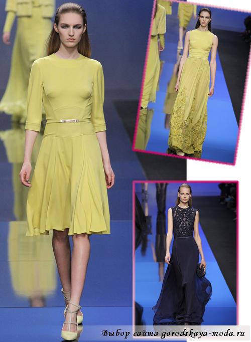 вечерние платья осень-зима 2013-2014