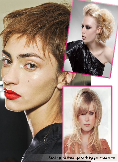 простые новогодние причёски 2014