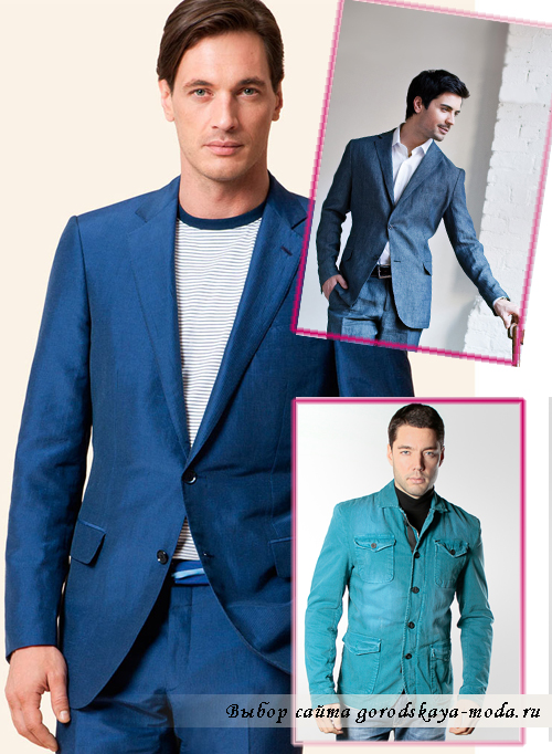 Миниатюра к статье Мужские пиджаки под джинсы