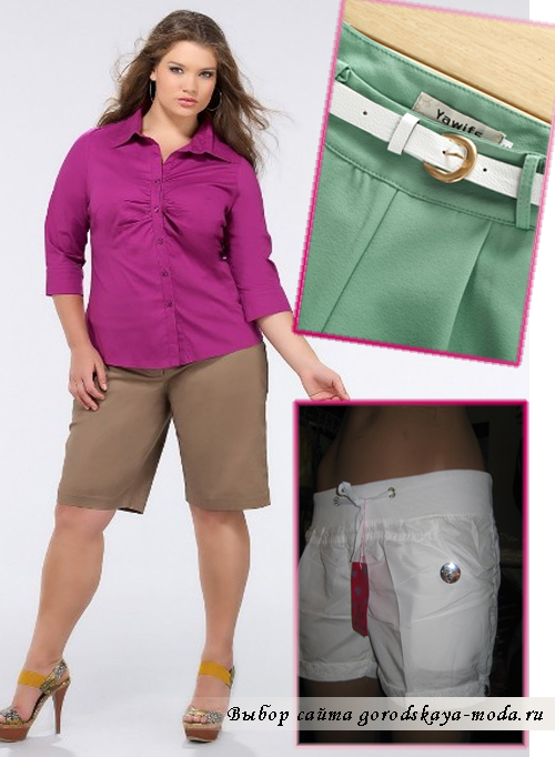 Миниатюра к статье Как выбрать шорты для полных?