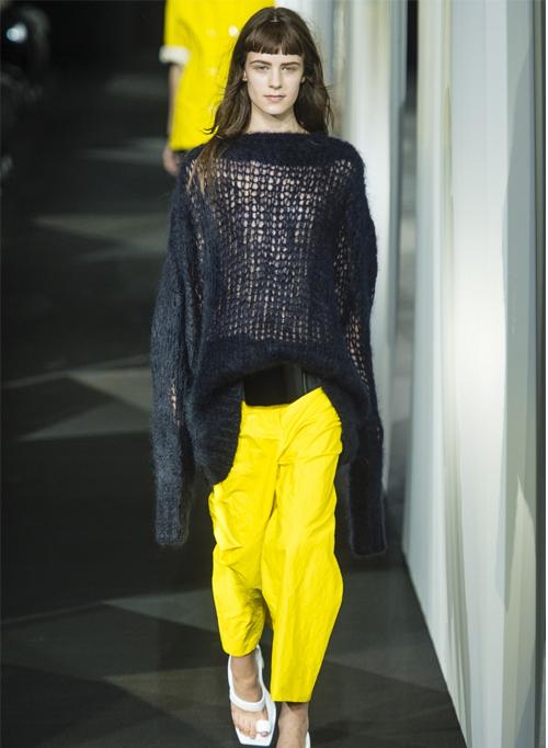 Миниатюра к статье Модные брюки весна-лето 2014