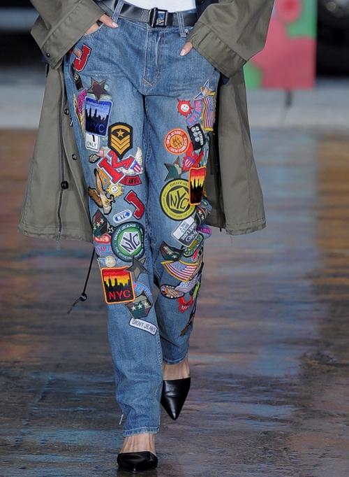 Миниатюра к статье Модные джинсы весна-лето 2014