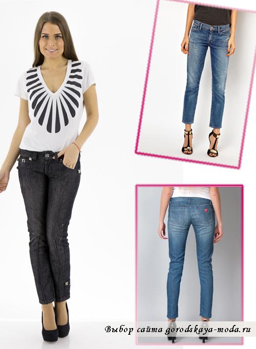 Миниатюра к статье С чем носить укороченные джинсы?