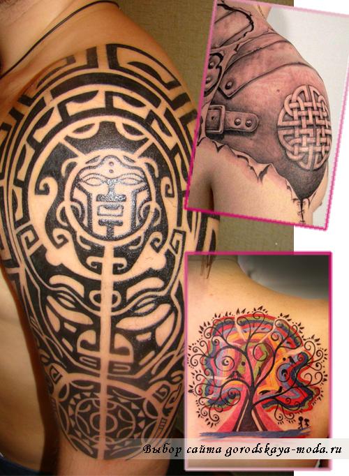 Миниатюра к статье Этнические и полинезийские татуировки