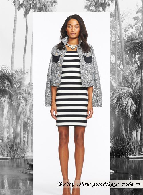 Миниатюра к статье Морской стиль в одежде - модное направление лета 2014