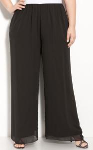 Миниатюра к статье Женские брюки для полных классические и укороченные