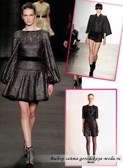 Женская одежда в стиле рок