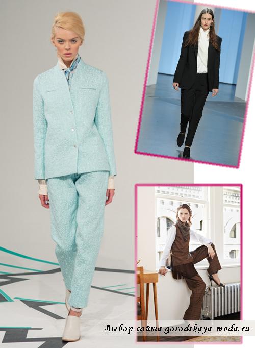 Миниатюра к статье Модные тенденции осень-зима 2014-2015