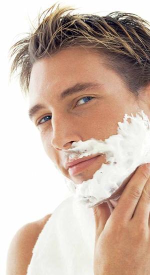 Техника бритья чувствительной кожи