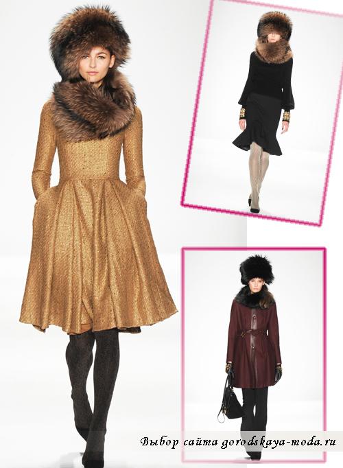 5711615b56fb Модные пальто сезона осень-зима 2014-2015 от Badgley Mischka1