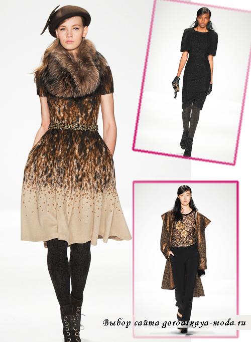 Модные пальто сезона осень-зима 2014-2015 от Badgley Mischka2