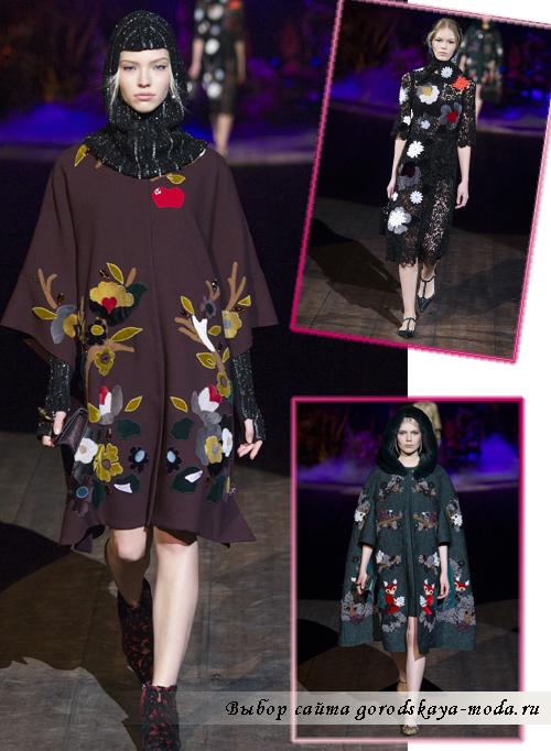 Осенне-зимние пальто 2014-2015 от Dolce&Gabbana2
