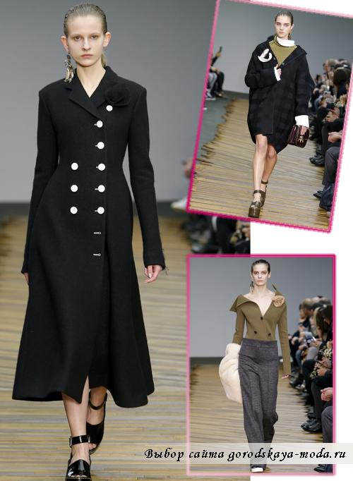 Модные пальто осень-зима 2014-2015 от Celine
