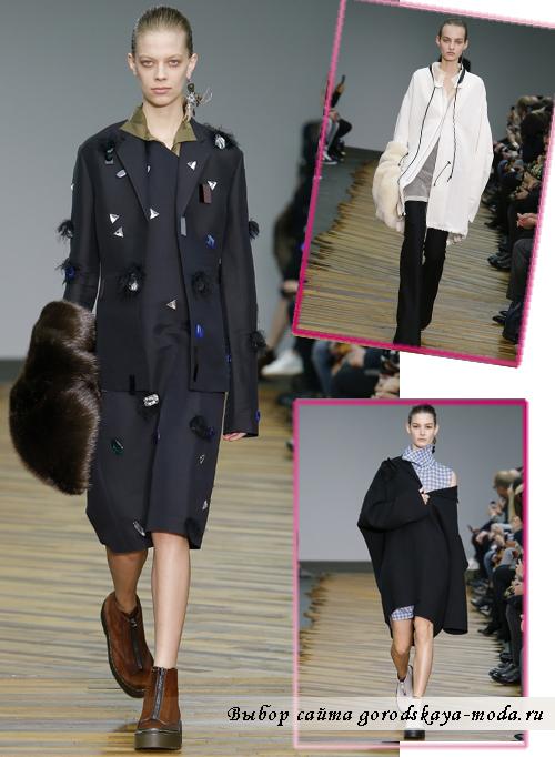 Модные пальто осень-зима 2014-2015 от Celine2