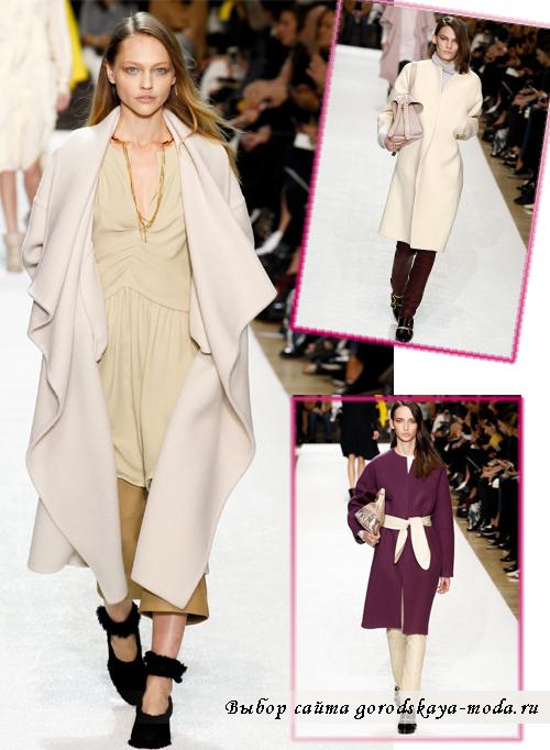 Модные пальто осень-зима 2014-2015 в коллекции Chloe2