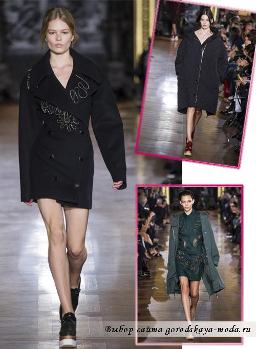 Модные пальто осень-зима 2014-2015 от Stella McCartney2