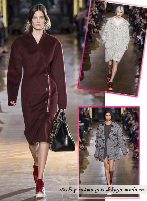 Модные пальто осень-зима 2014-2015 от Stella McCartney