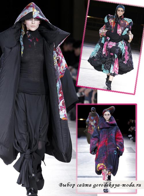 Креативные пальто осень-зима 2014-2015 от Yohji Yamamoto2