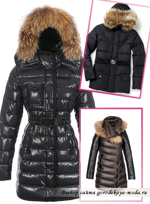 Модные пуховики зима 2014-2015