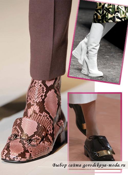 ботинки на осень-зиму 2014-2015