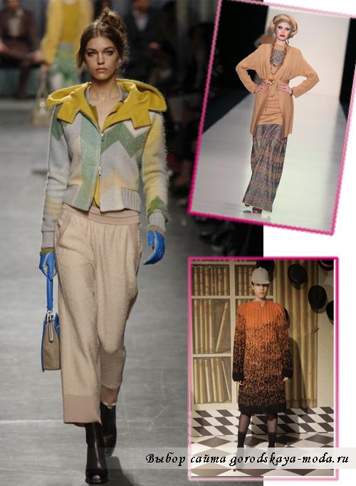 Модные кофты зима 2015 для женщин