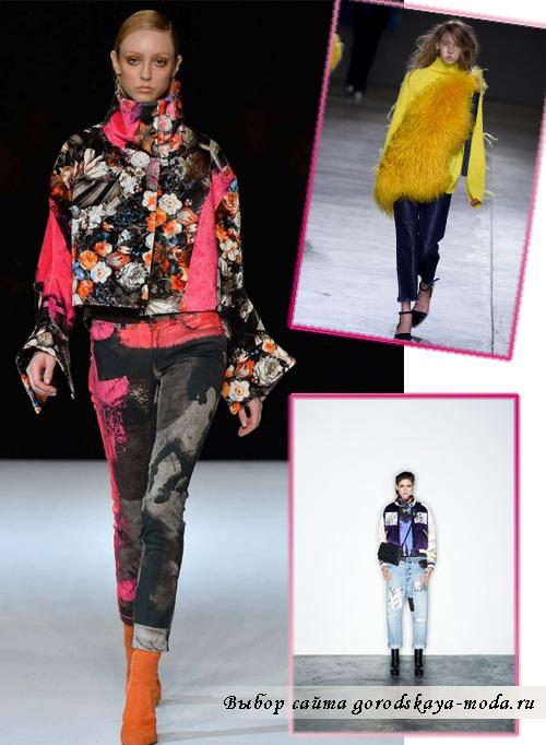 Модные Джинсы Осень 2015