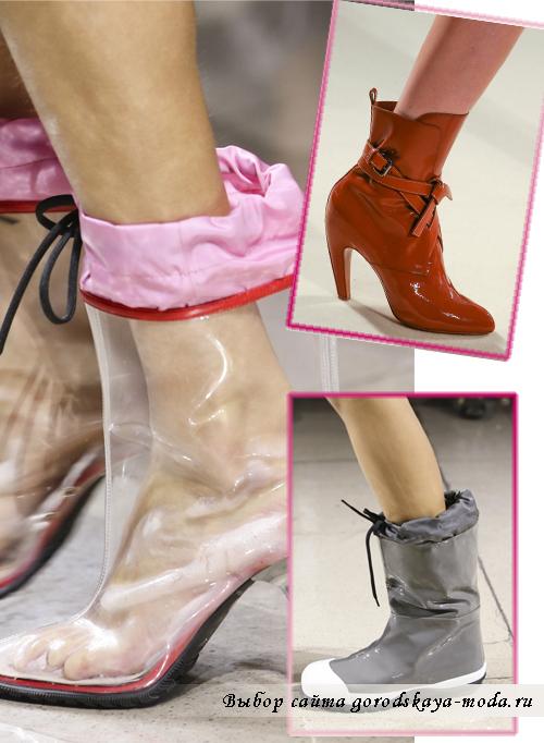 красивые ботинки на осень-зиму 2014-2015
