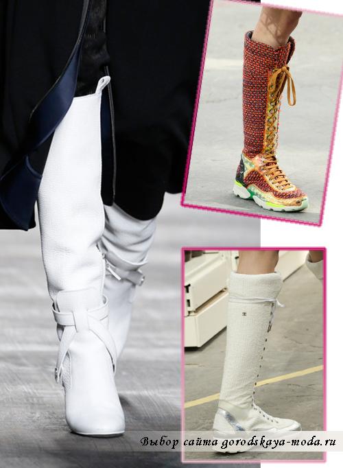 Миниатюра к статье Модные ботфорты осень зима 2015