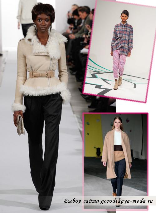 Модные женские брюки на осень-зиму 2014-2015
