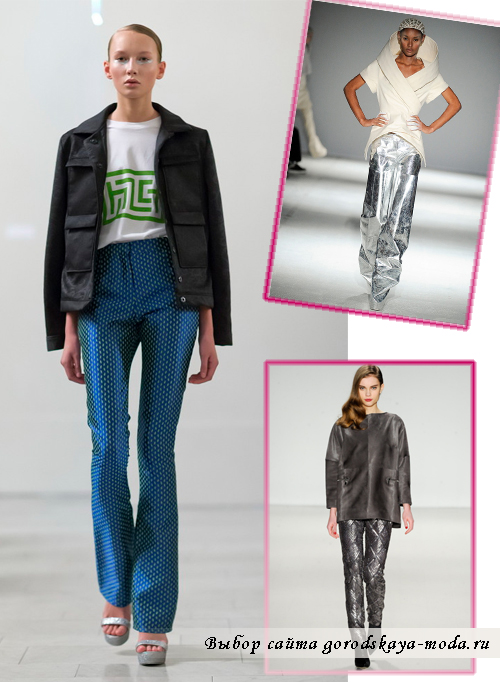 стильные брюки осень-зима 2014-2015