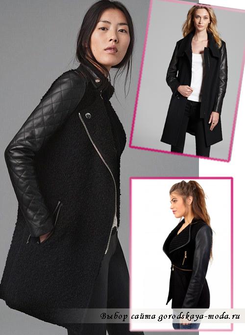 Как выбрать и как носить кожаное пальто