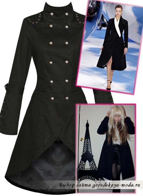 Миниатюра к статье Выбираем цвет пальто: черное, белое, красное