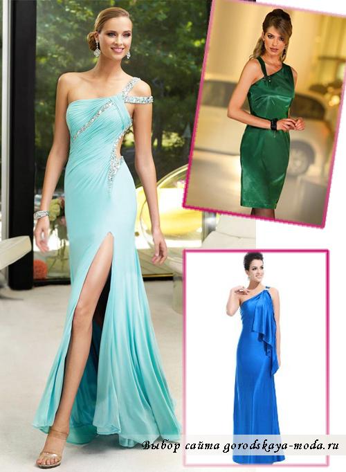 Модные платья на Новый год 2015