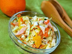 Миниатюра к статье Рецепты салатов из свежей капусты