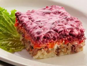 Миниатюра к статье Рецепт салата селёдка под шубой