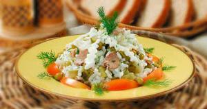 Миниатюра к статье Вкусный салат из печени трески к празднику