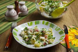 Миниатюра к статье Рецепты легких и быстрых салатов на скорую руку
