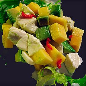 Фруктовый салат на праздничный стол простые рецепты