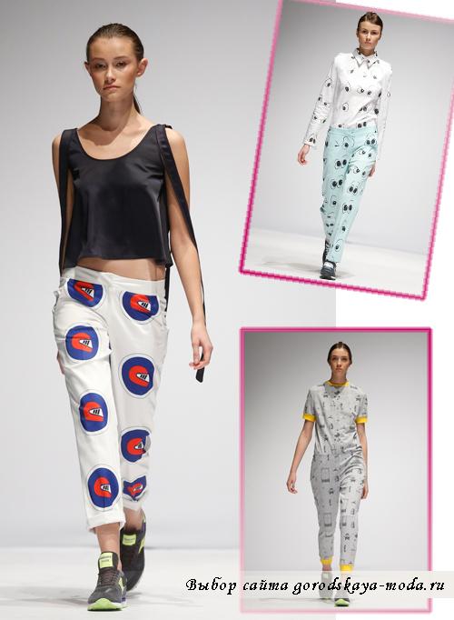 Миниатюра к статье Модные брюки весна-лето 2015